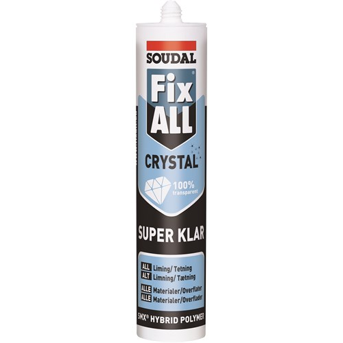 Soudal  SOUDASEAL FIX ALL KRYSTALL
