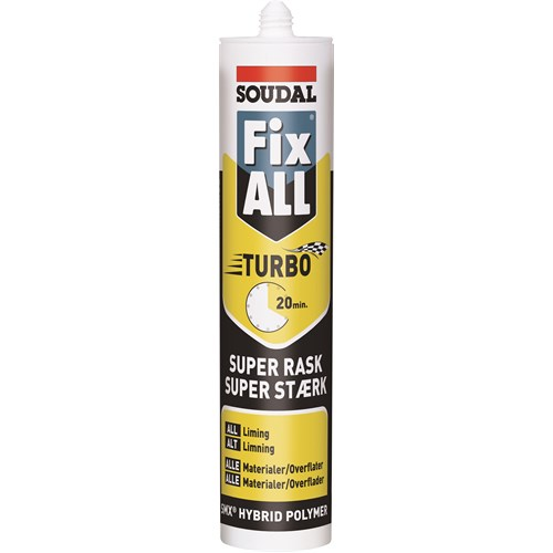 Soudal Fix All Turbo Sort NO-DK 290ml