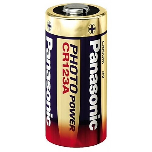 Panasonic CR123A Lithium Batteri 3V