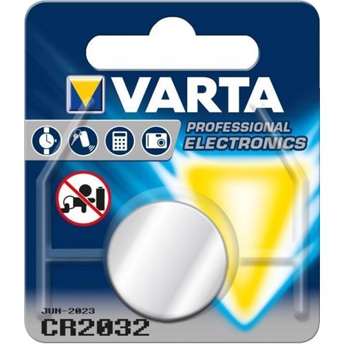 Varta Professional Electronics CR2032 lithium button cell, 3 V