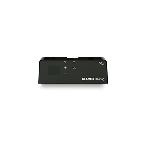 Glamox WIFI termostat for H40/H60 serien sort